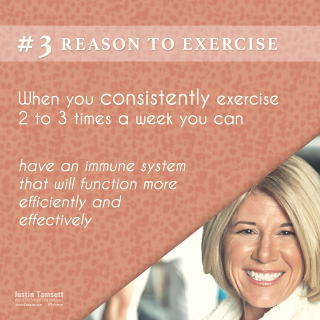 #reasonstoexercise #3 #getmoving and your body will thank you & your mind ... And your family!