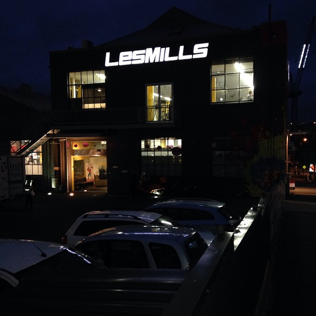 Today's place for a #workout is #LesMills #Auckland #TheOriginal