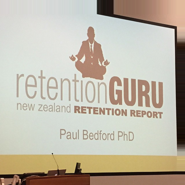 @guru_paul #DrPaulBedford talking #retention at #Fitex.