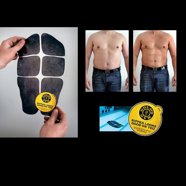 #abdominals #marketing #6 what do you think? Would this get you to a #gym #fitnesscentre #healthclub or start #personaltraining ? #GoldsGym #workout #exercise #train #fitspo #fitspiration