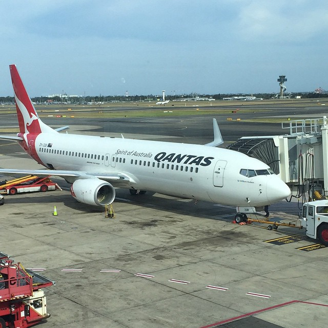 My chariot to #Auckland for @ExerciseNZ #FitEx. Do enjoy my @Qantas #comfortable #Qantas