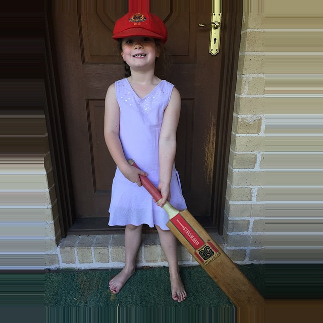 A young fan of #PhillipHughes RIP Forever #63notout #OutYourBatsOut #Today9
