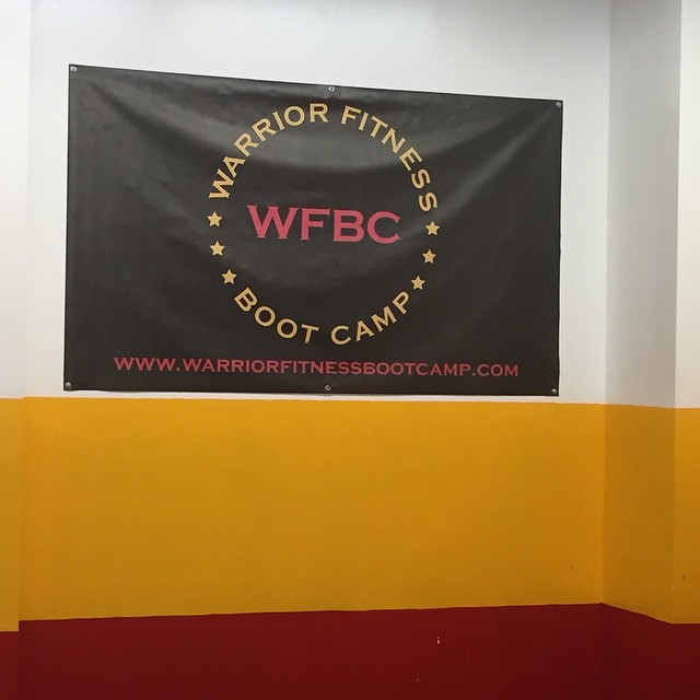 Today's place of #workout #warriorfitness #nyc Tough workout! Great instructor who knows how to get the most from you. #motivation