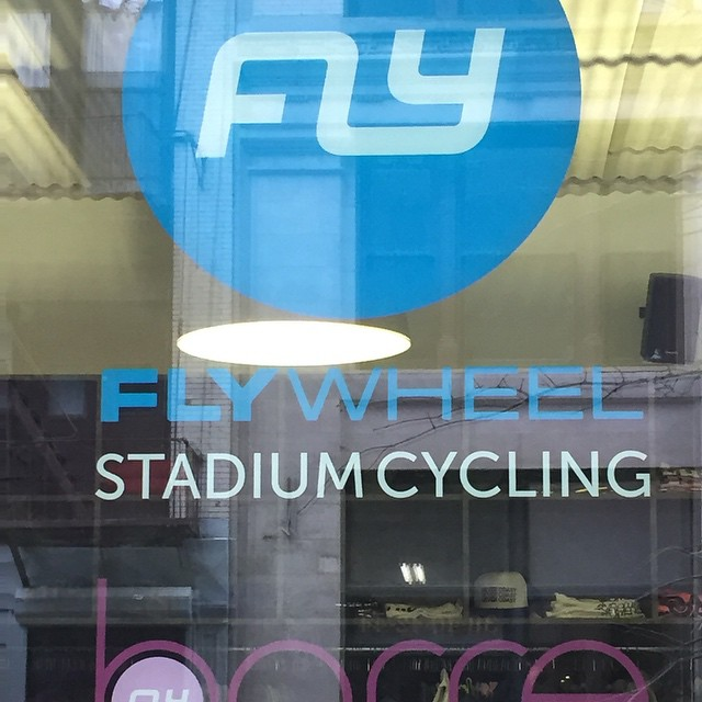 #FlyWheelSports was the place this morning for #exercising