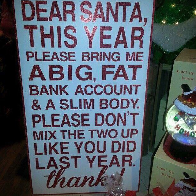 Did #Santa mix up your prezzie last year? #fun #getmoving #fitspo #fitspiration