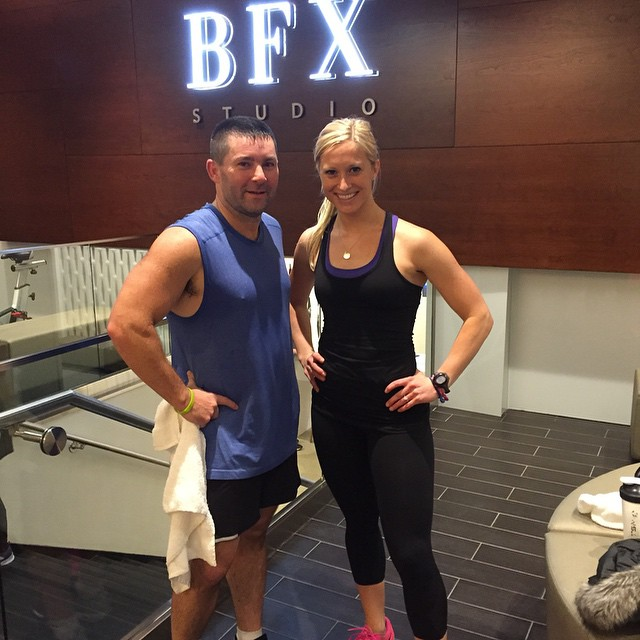 Second #workout for the day at @BFXStudio with @AmandaButlerNYC. Great club! #inspiration #fitspo