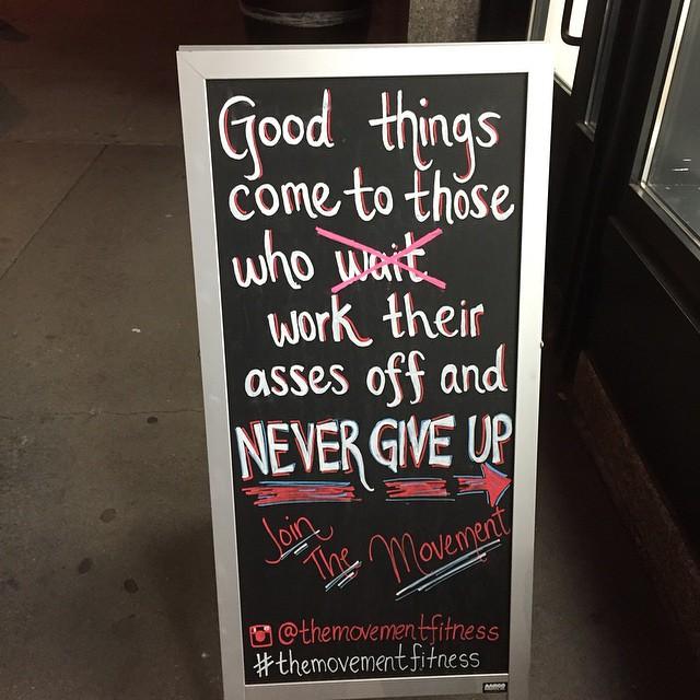 #gym #marketing in #newyorkcity. It caught my attention! @themovementfitness