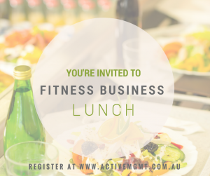 FitnessBiz Lunch Melbourne - March 2015 @ Mt Erica Hotel | Prahran | Victoria | Australia