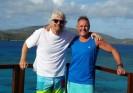 Steve Brossman and Richard Branson