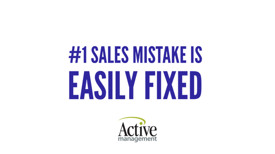 Sales Mistake