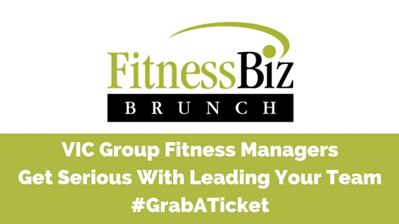 VIC Group Fitness Managers