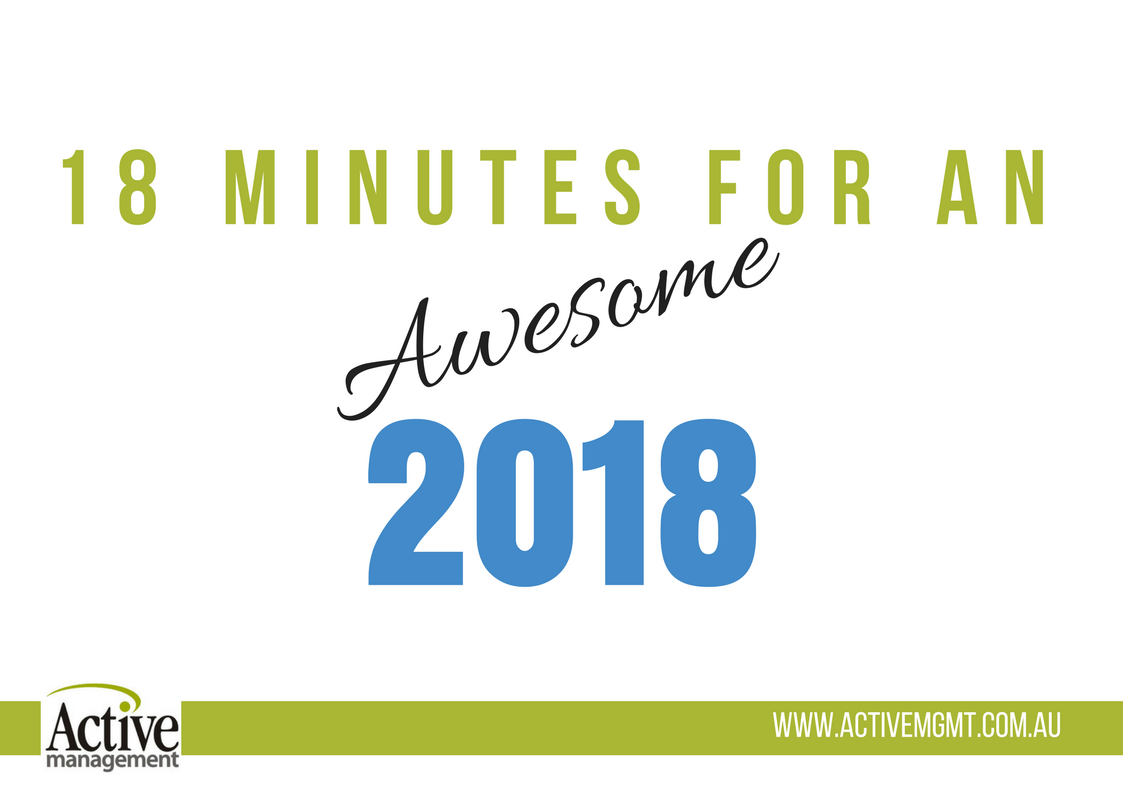 18 Minutes For An Awesome 2018