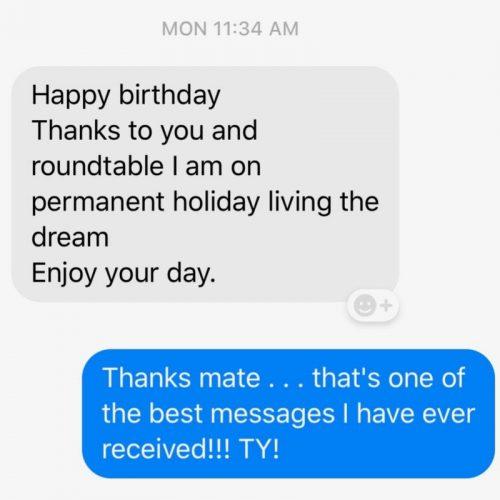 Roundtable testimonial
